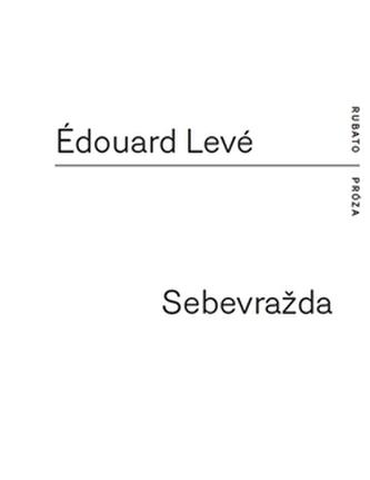 Sebevražda - Édouard Levé
