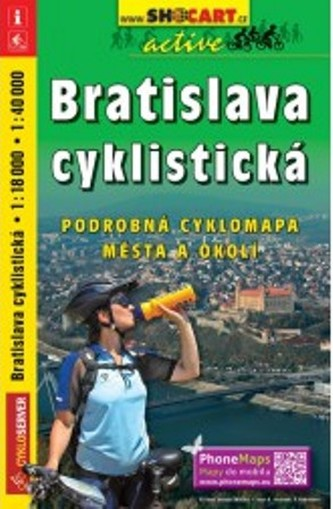 Bratislava cyklistická 1 : 18 000 / 1 : 40 000 - SHOCart