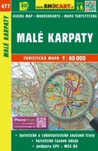 Malé Karpaty 1:40 000 - SHOCart