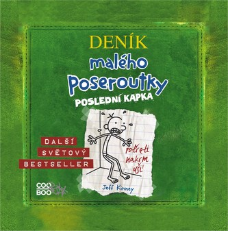 Deník malého poseroutky 3 - audio CD - Jeff Kinney, Václav Kopta