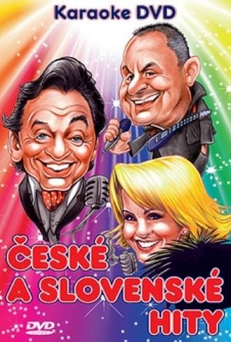 DVD-Karaoke-České a Slovenské Hity - kolektiv