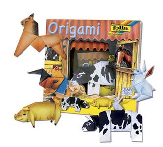 Origami Zvířátka na statku