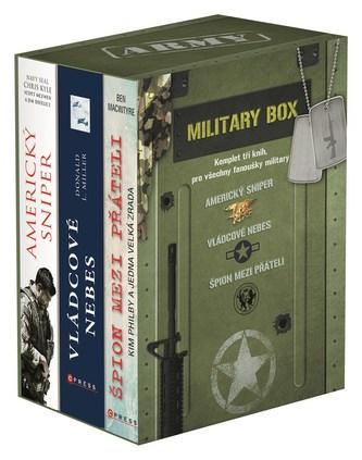 Military BOX - Chris Kyle, Scott McEwen, Jim DeFelice, Ben Macintyre, Donald L. Miller