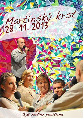 Hiraxova prednáška a martinský krst z 28. 11. 2013 - Pavel Hirax Baričák; Adéla Banášová; Majk Spirit