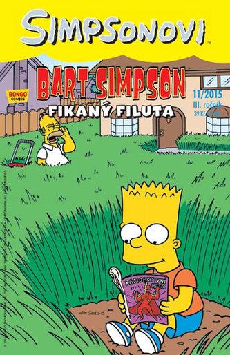 Simpsonovi - Bart Simpson 11/2015 - Fikaný filuta - Groening Matt