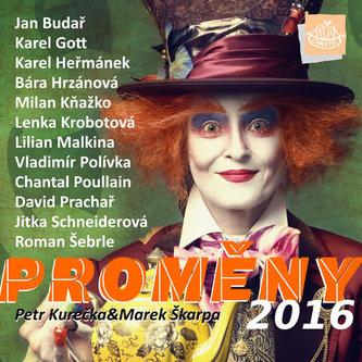 Kalendář 2016 - Proměny - Kurečka Petr, Škarpa Marek