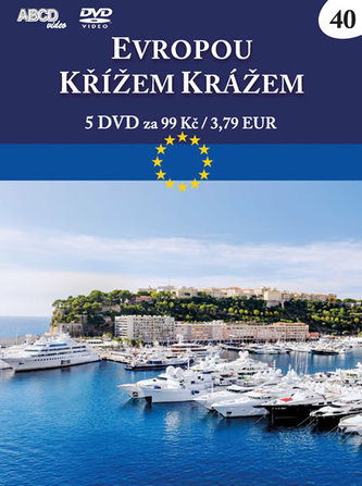 Evropou křížem krážem - 5 DVD - neuveden