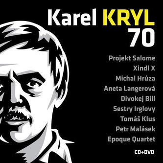 Karel Kryl - 70 Koncert CD+DVD - Kryl Karel