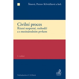 Civilní proces - Šínová