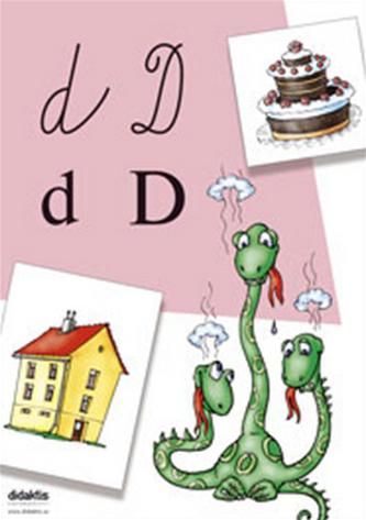 Plakáty s písmenky 2 (ke Slabikáři) - nástěnný plakát s písmenky - neuveden