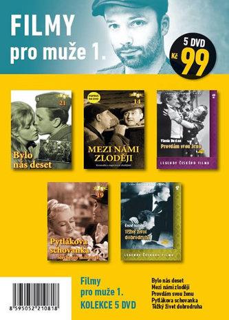 Filmy pro muže 1. - 5 DVD - neuveden