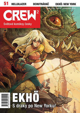 Crew2 - Comicsový magazín 51/2016 - neuveden