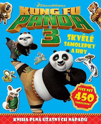 Kung Fu Panda 3 - Skvělé samolepky a hry - neuveden