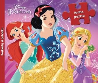 Princezny (kniha s puzzle) - Disney Walt
