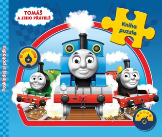 Tomáš a jeho přátelé (kniha s puzzle) - Disney Walt