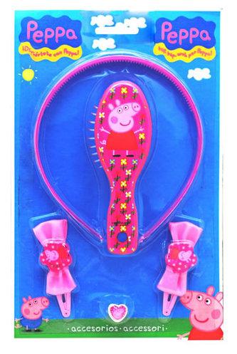 Prasátko Peppa - set na vlasy 6551 - neuveden
