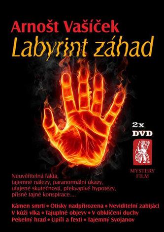 Labyrint záhad - 2 DVD - Vašíček Arnošt