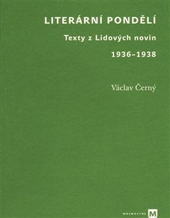 Literární pondělí - Václav Černý