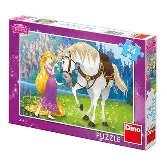 Locika a Max - puzzle 24 dílků - Disney Walt