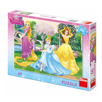 Princezny v zahradě - Puzzle 66 dílků - Disney Walt