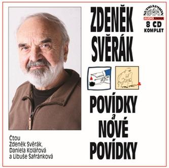 Povídky a Nové povídky Komplet 8 CD - Zdeněk Svěrák