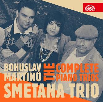 Klavírní tria - B. Martinů - CD - Smetanovo trio