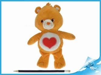 Starostlivý medvídek plyšový oranžový