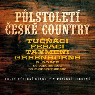 Půl století české country - 2CD/2DVD - Různí interpreti