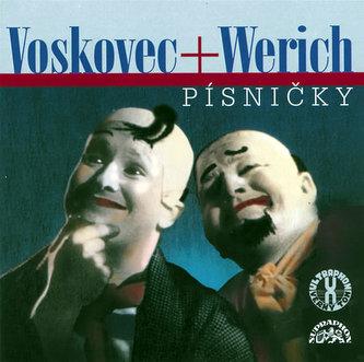 Písničky - CD - Voskovec Jiří, Werich Jan