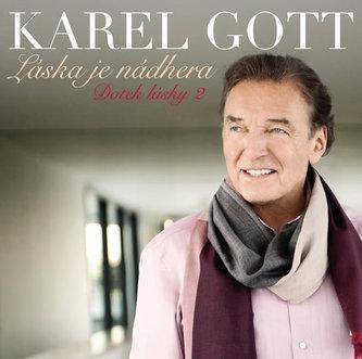 Láska je nádhera CD (Doteky lásky 2) - Gott Karel