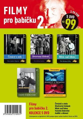 Filmy pro babičku 2. - 5 DVD pošetka - neuveden