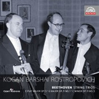 Smyčcová tria - 2CD - Beethoven Ludwig van