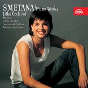 Klavírní dílo 1 (Macbeth a čarodějnice, Vidění na plese, Bettina polka,..) - CD - Smetana Bedřich