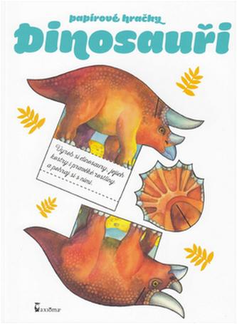 Papírové hračky Dinosauři - Andrea Popprová