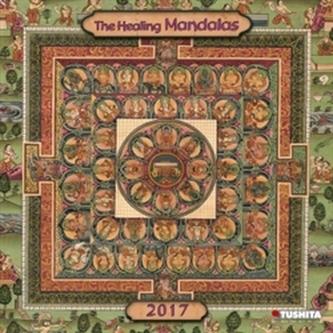 Nástěnný kalendář- The Healing Mandalas 2017