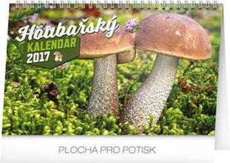 Kalendář stolní 2017 - Houbařský kalendář - neuveden