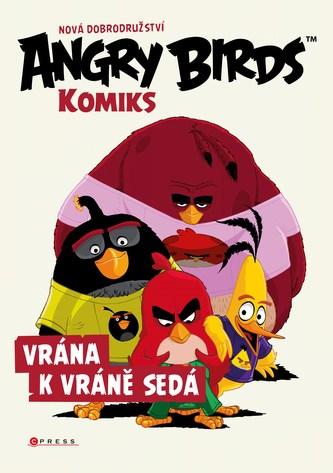 Angry Birds ve filmu – Komiks: Vrána k vráně sedá - kolektiv