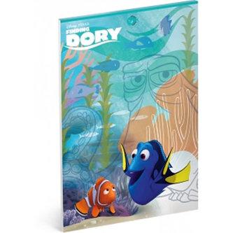 Náčrtník - Hledá se Dory/A4 nelinkovaný 50 listů - neuveden