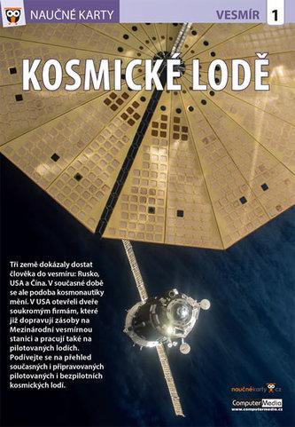 Kosmické lodě - Naučné karty - neuveden