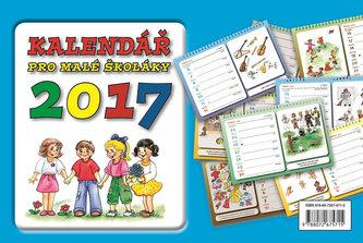 Kalendář pro malé školáky 2017 stolní - neuveden