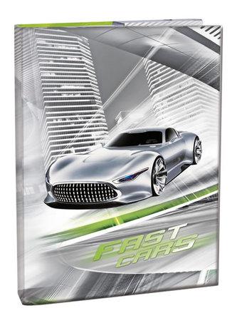 Box na sešity A5 - Fast Cars - neuveden