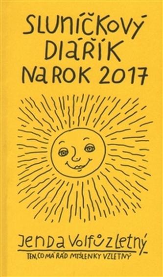 Sluníčkový diářík na rok 2017 - Honza Volf