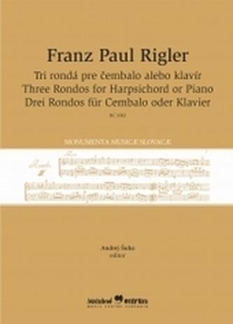 Tri rondá pre čembalo alebo klavír