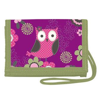 Peněženka na krk - Owl - neuveden