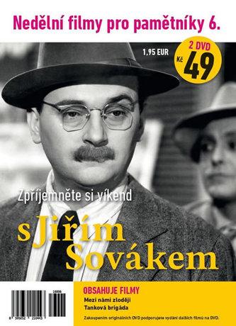 Nedělní filmy pro pamětníky 6. - Jiří Sovák - 2 DVD pošetka - neuveden