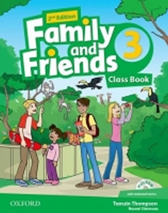 Family and Friends 2nd Edition 3 Course Book with MultiROM Pack - Simmons N.