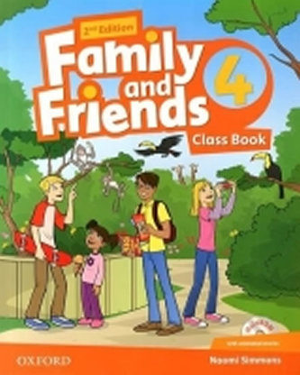 Family and Friends 2nd Edition 4 Course Book with MultiROM Pack - Simmons N.