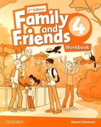 Family and Friends 2nd Edition 4 Workbook - Simmons N.