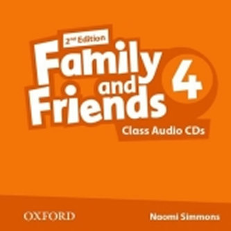 Family and Friends 2nd Edition 4 Class Audio 2 CDs - Simmons N.