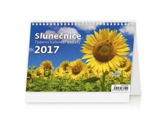 Kalendář stolní 2017 - Slunečnice - neuveden